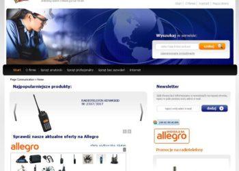 Nowa strona internetowa Page Communication Sp. z o.o.
