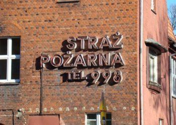 Elewacja budynku jednej z jednostek PSP Wrocław.