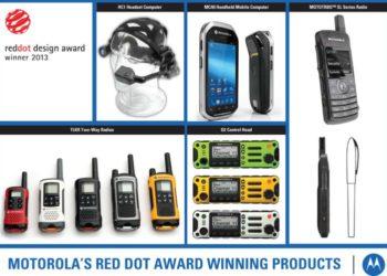 Produkty Motorola, które otrzymały nagrodę red dot