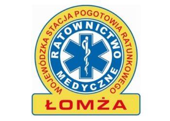 Wojewódzka Stacja Pogotowia Ratunkowego w Łomży logo