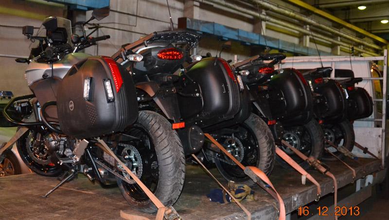 Nowe motocykle łódzkiej Policji z videorejestratorami