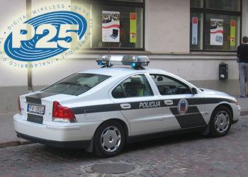 Radiowóz łotewskiej policji