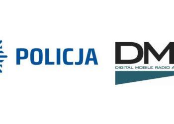 Policja łączność radiowa cyfrowa DMR