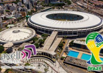 Panorama stadionu Maracana