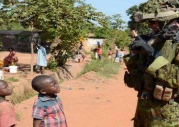 Żołnierz EUFOR w Afryce