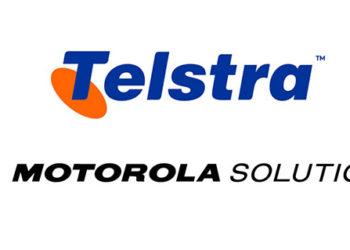 Loga firm Telstra i Motorola Solutions