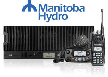 Oferta DMR III firmy Tait i Logo Manitoba Hydro