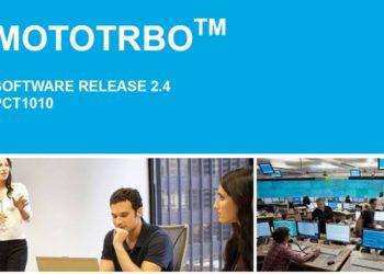 Nowa wersja oprogramowania MOTOTRBO 2.4