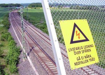 Tory kolejowe w Szwecji