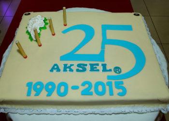 Tort AKSEL 25 lat
