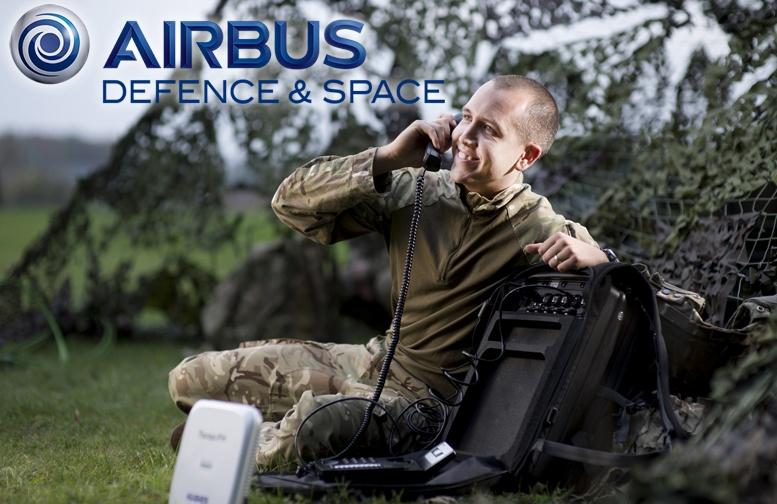 Żołnierz korzystający z systemu Wel2Go