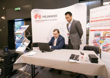 Stoisko Huawei Polska podczas RadioEXPO 2015