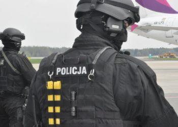 Ćwiczenia Pyrzowice - slaska_policja_gov_pl