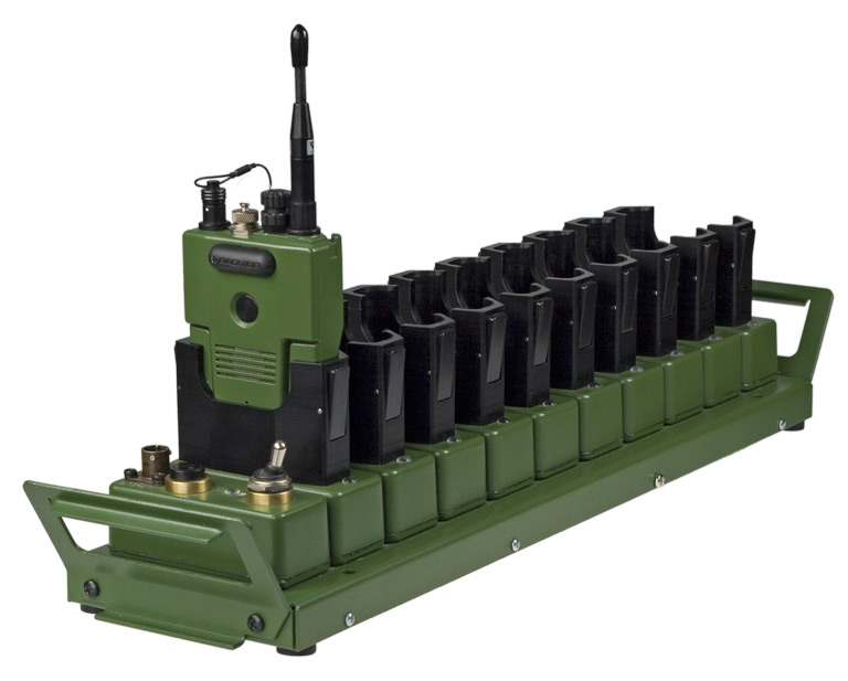 RADMOR - 10 stanowiskowa ładowarka