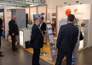 Stoisko IP Connect podczas Europoltech 2015