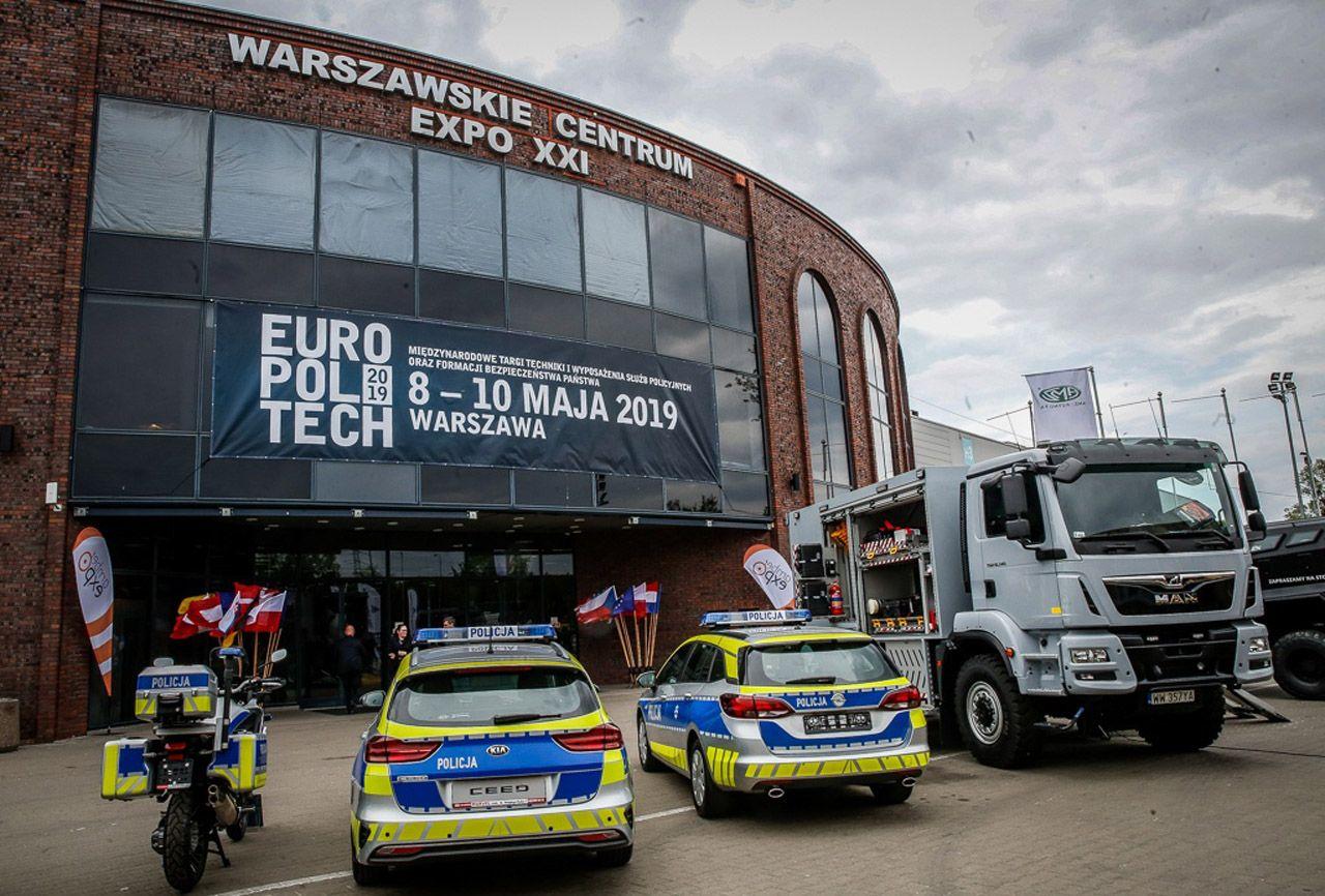 Europoltech 2019 hala EXPO XXI front ekspozycja