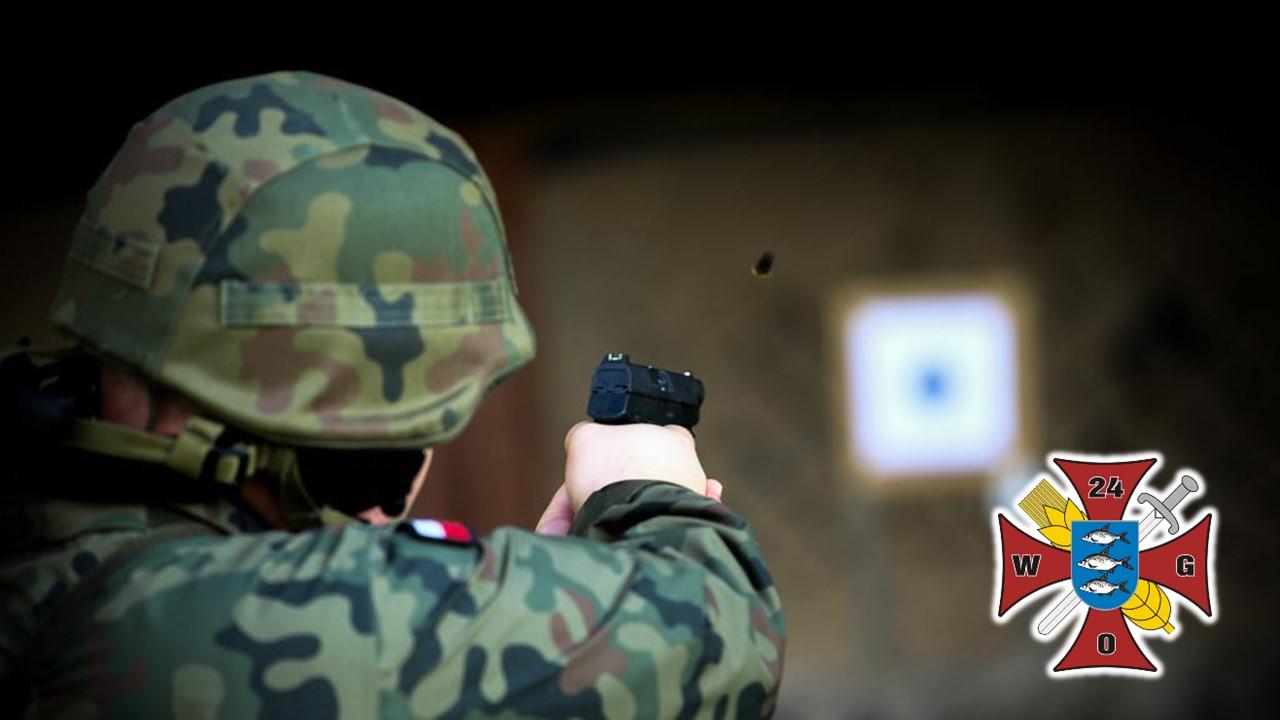 24 Wojskowy Oddział Gospodarczy strzelanie do tarczy