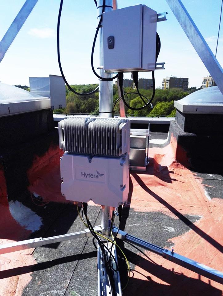 Hytera DMR trunking Cube instalacja rtcom stacja bazowa lacznosc radiowa