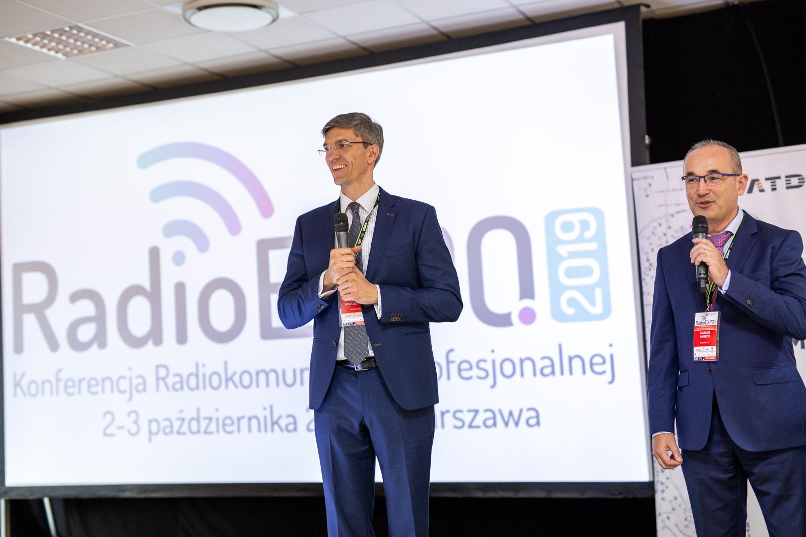 Mariusz Waruszewski prowadzący RadioEXPO 2019