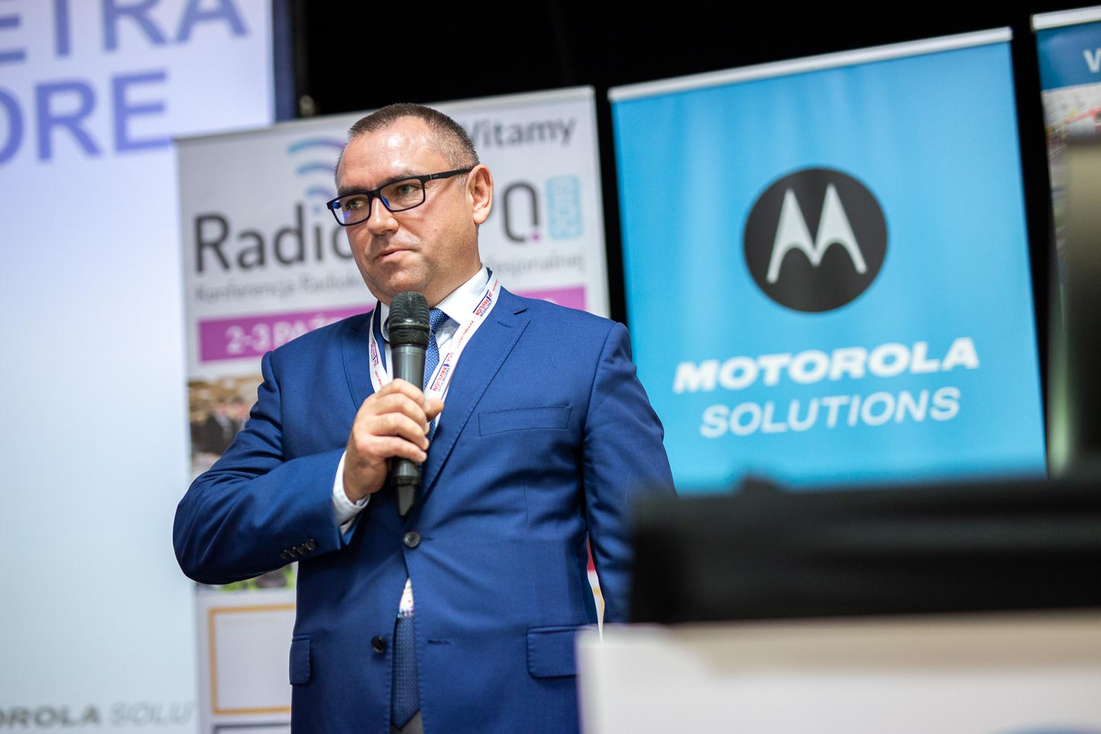 Tomasz Piktel Motorola Sotluions RadioEXPO 2019