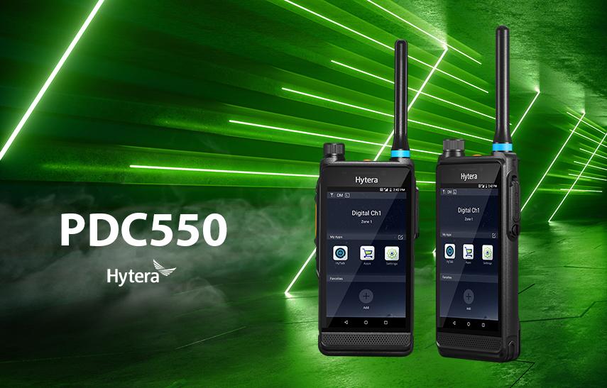 Hytera radiotelefon PoC PDC550 DMR
