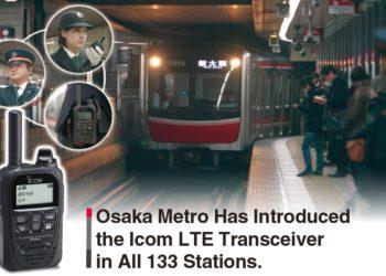 Metro w Osace wdrożyło łączność radiową ICOM LTE