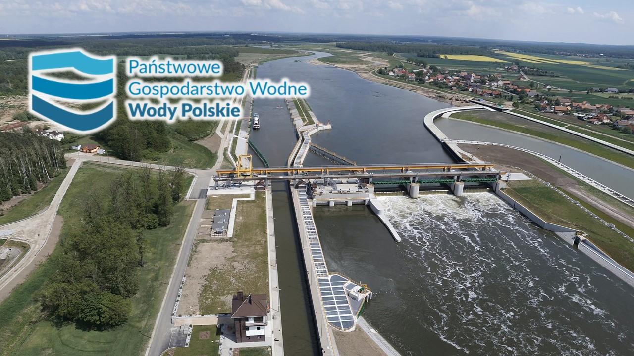 Państwowe Gospodarstwo Wodne - Wody Polskie Stopień Wodny na Odrze- Malczyce
