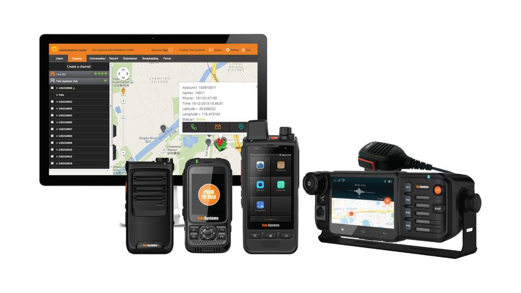 Telo Push to talk PTT radiotelefony