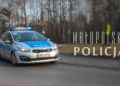 Radiowóz małopolskiej Policji