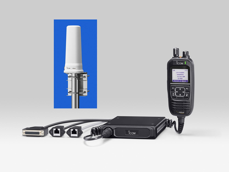 ICOM-IC-SAT100M-radiotelefon-satelitarny-zestaw-antena