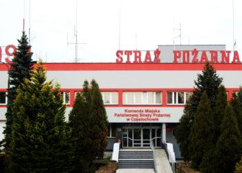 Straż Pożarna Częstochowa budynek główny komendy