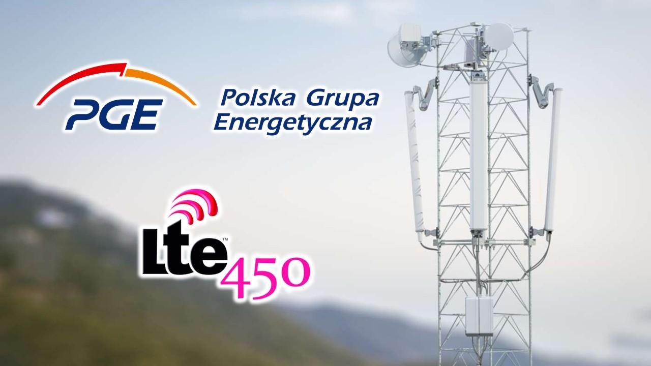 PGE Systemy łączność LTE450
